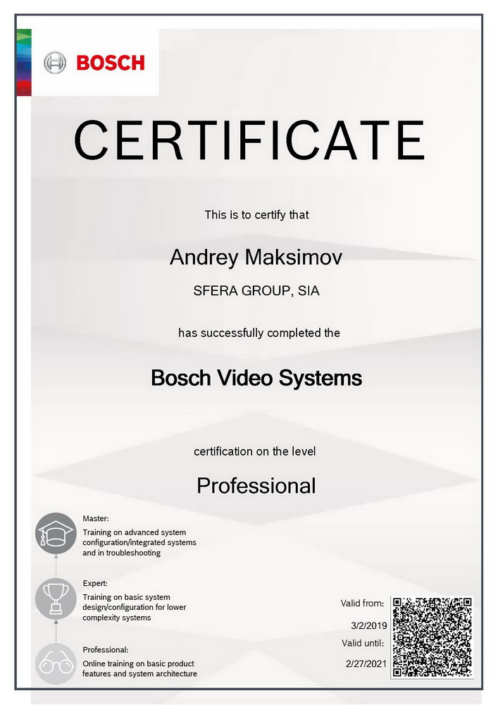 Bosch Video System Professional